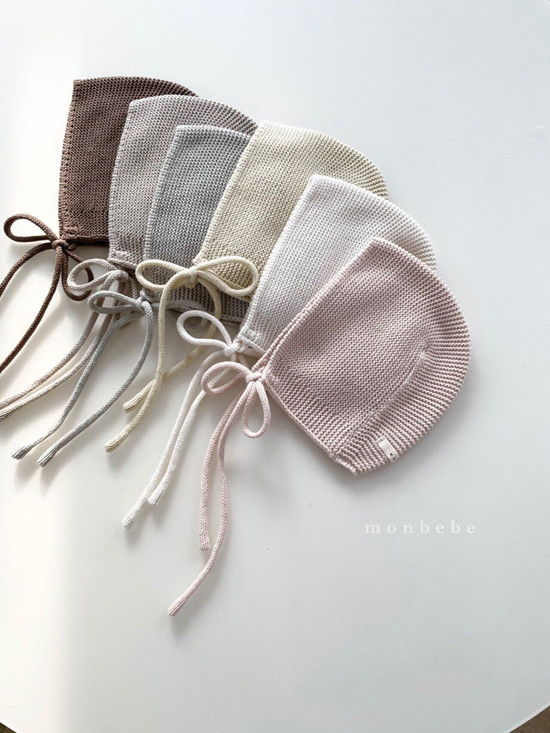 MONBEBE - Korean Children Fashion - #Kfashion4kids - Caramel Bonnet - 5