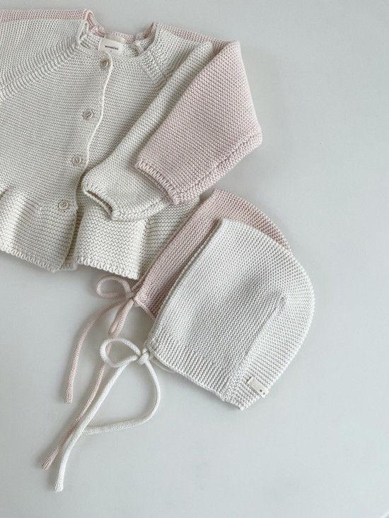 MONBEBE - Korean Children Fashion - #Kfashion4kids - Caramel Bonnet - 6