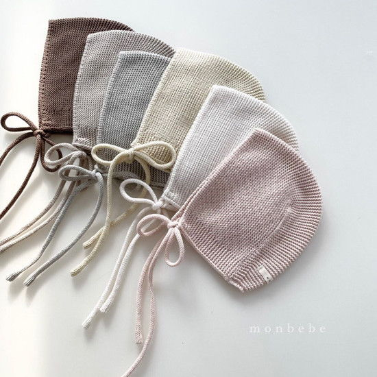 MONBEBE - BRAND - Korean Children Fashion - #Kfashion4kids - Caramel Bonnet