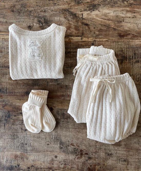 MONBEBE - Korean Children Fashion - #Kfashion4kids - Croiffle Bloomer - 11