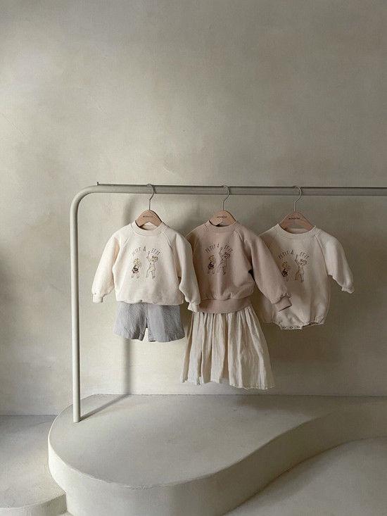 MONBEBE - Korean Children Fashion - #Kfashion4kids - Petit Print Bodysuit - 10