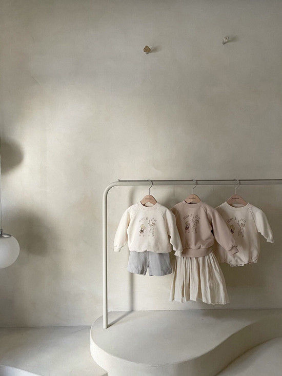MONBEBE - Korean Children Fashion - #Kfashion4kids - Petit Print Bodysuit - 11