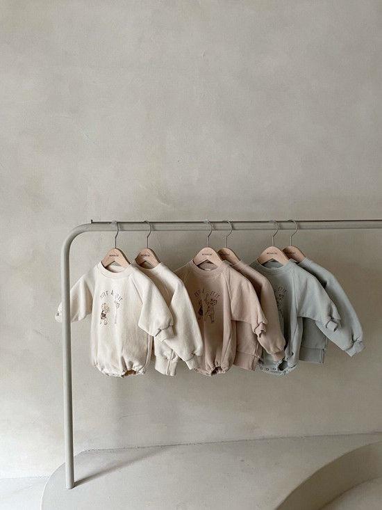 MONBEBE - Korean Children Fashion - #Kfashion4kids - Petit Print Bodysuit - 7