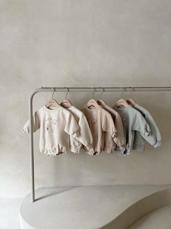 MONBEBE - Korean Children Fashion - #Kfashion4kids - Petit Print Bodysuit - 8