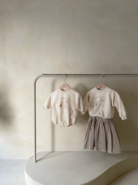 MONBEBE - Korean Children Fashion - #Kfashion4kids - Petit Print Bodysuit - 9