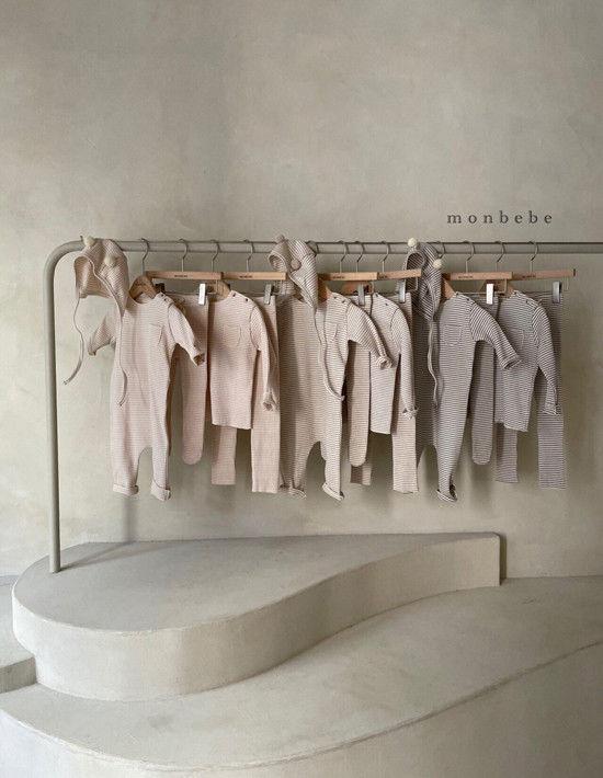 MONBEBE - Korean Children Fashion - #Kfashion4kids - Paul Stripe Tee - 6