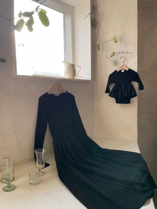 MONBEBE - Korean Children Fashion - #Kfashion4kids - Rib Frill Bodysuit - 4