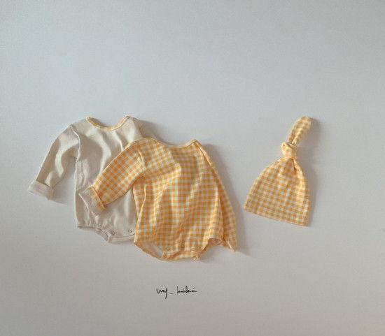 MY BEBE - Korean Children Fashion - #Kfashion4kids - Two Romper Set with Hat - 5