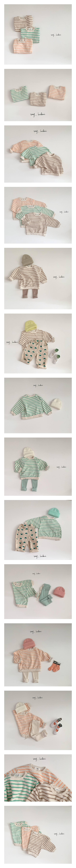 MY BEBE - Korean Children Fashion - #Kfashion4kids - Pastel Stripe Tee