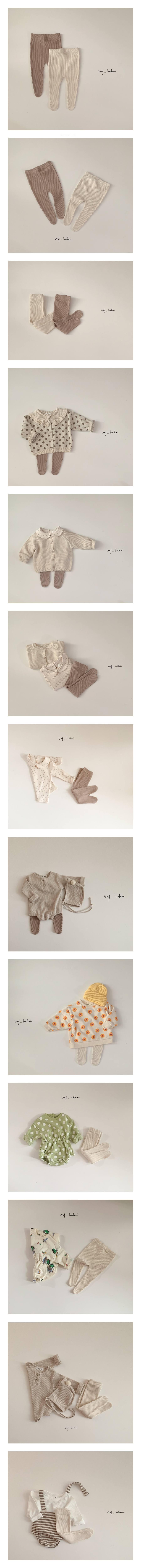 MY BEBE - Korean Children Fashion - #Kfashion4kids - Rib Foot Leggings