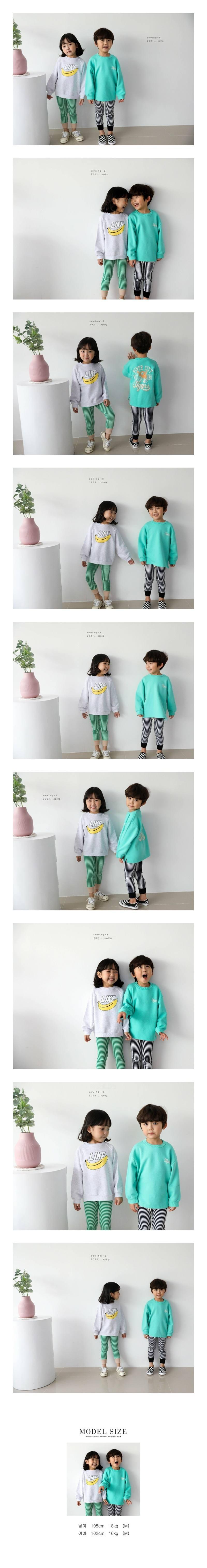 SEWING-B - Korean Children Fashion - #Kfashion4kids - Jelly Stripe Leggings