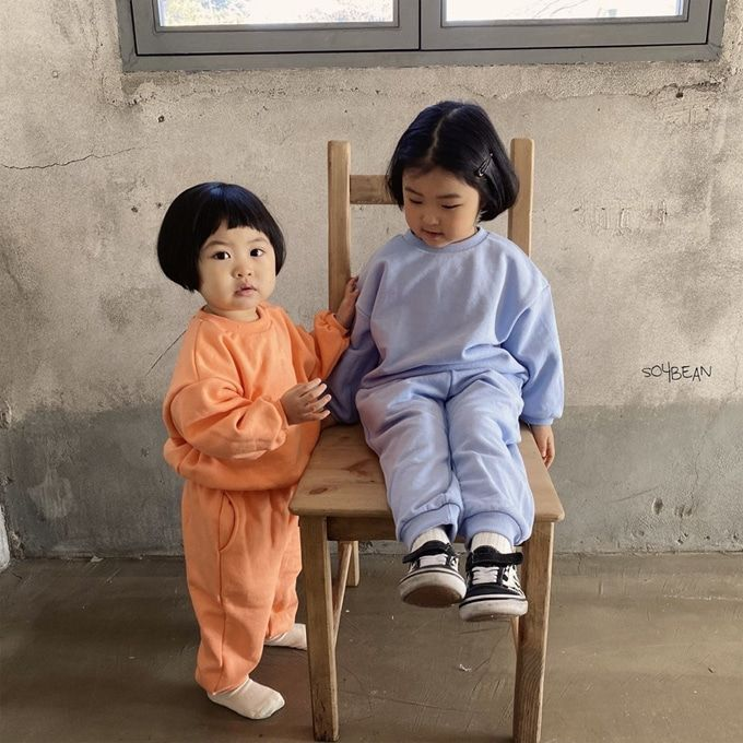 SOYBEAN - BRAND - Korean Children Fashion - #Kfashion4kids - Lollipop Top Bottom Set