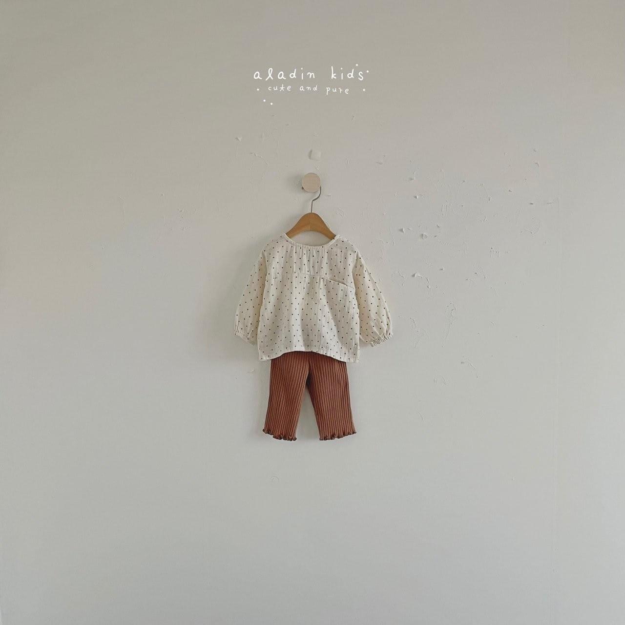 ALADIN - Korean Children Fashion - #Kfashion4kids - Pocket Blouse - 5