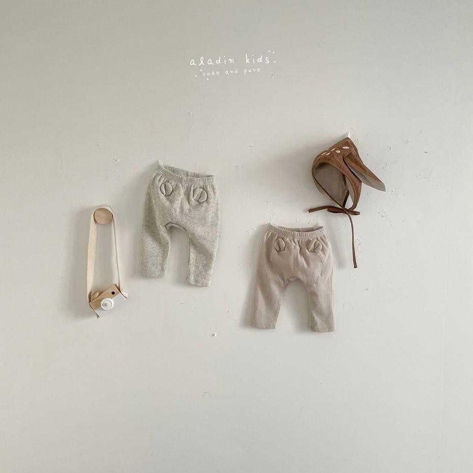 ALADIN - Korean Children Fashion - #Kfashion4kids - Hip Bear Pants - 2