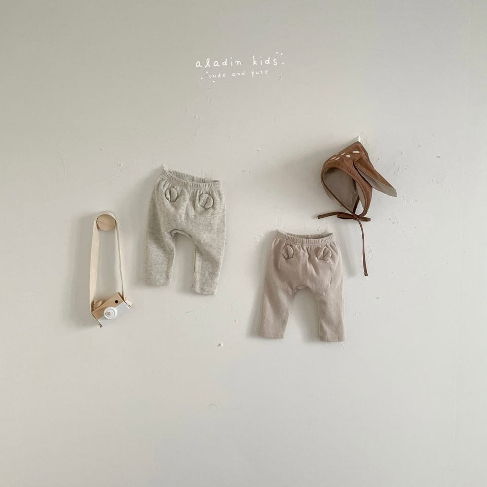 ALADIN - BRAND - Korean Children Fashion - #Kfashion4kids - Hip Bear Pants