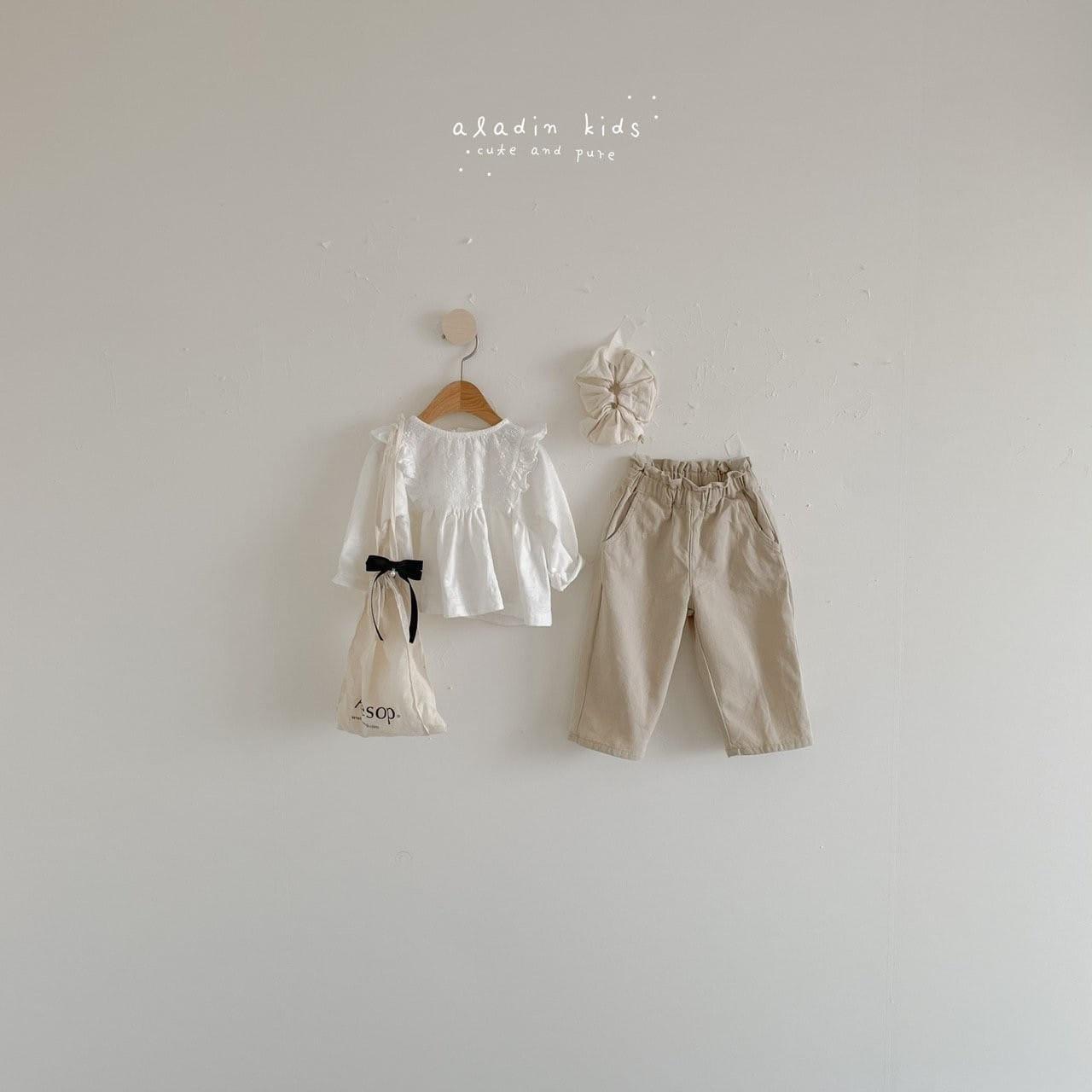 ALADIN - Korean Children Fashion - #Kfashion4kids - Frill Pants