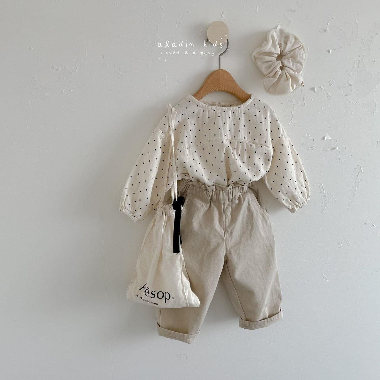 ALADIN - Korean Children Fashion - #Kfashion4kids - Frill Pants - 6