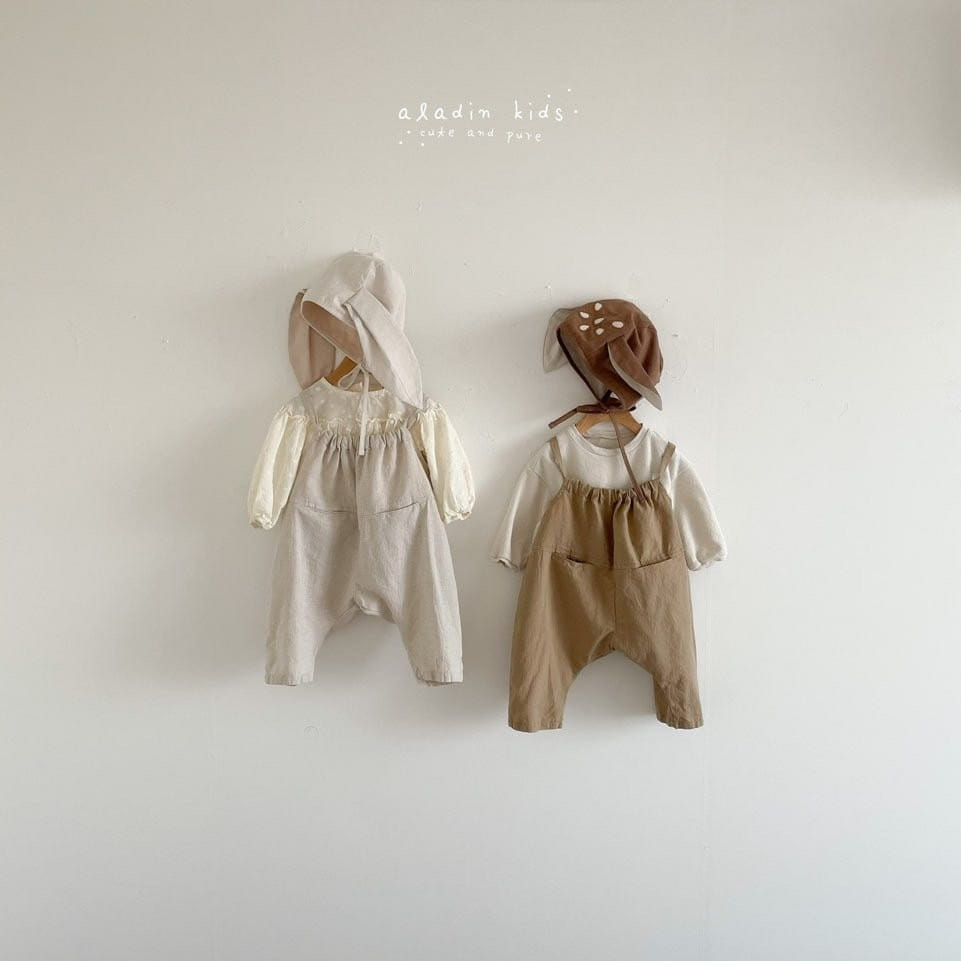 ALADIN - Korean Children Fashion - #Kfashion4kids - Circle Overall