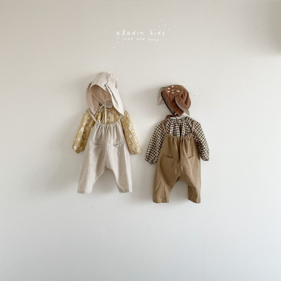 ALADIN - Korean Children Fashion - #Kfashion4kids - Circle Overall - 3