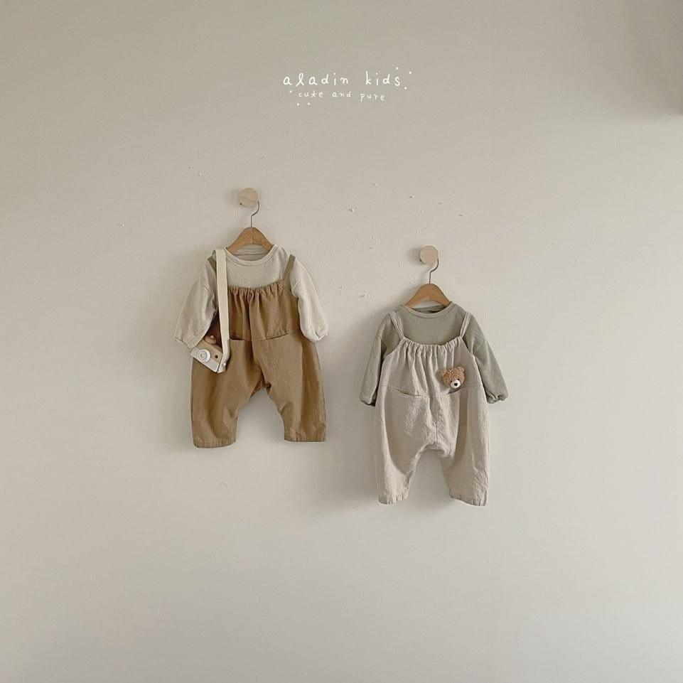 ALADIN - BRAND - Korean Children Fashion - #Kfashion4kids - Circle Overall