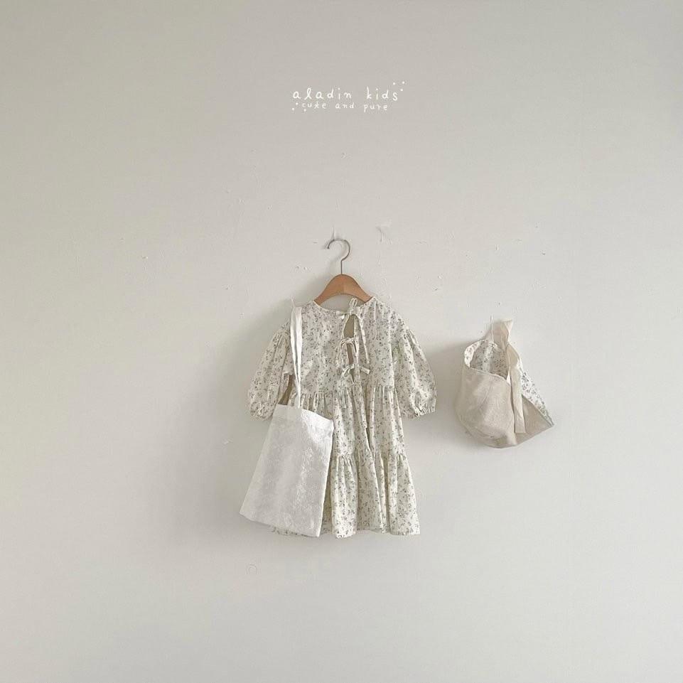 ALADIN - Korean Children Fashion - #Kfashion4kids - Cancan One-piece - 3