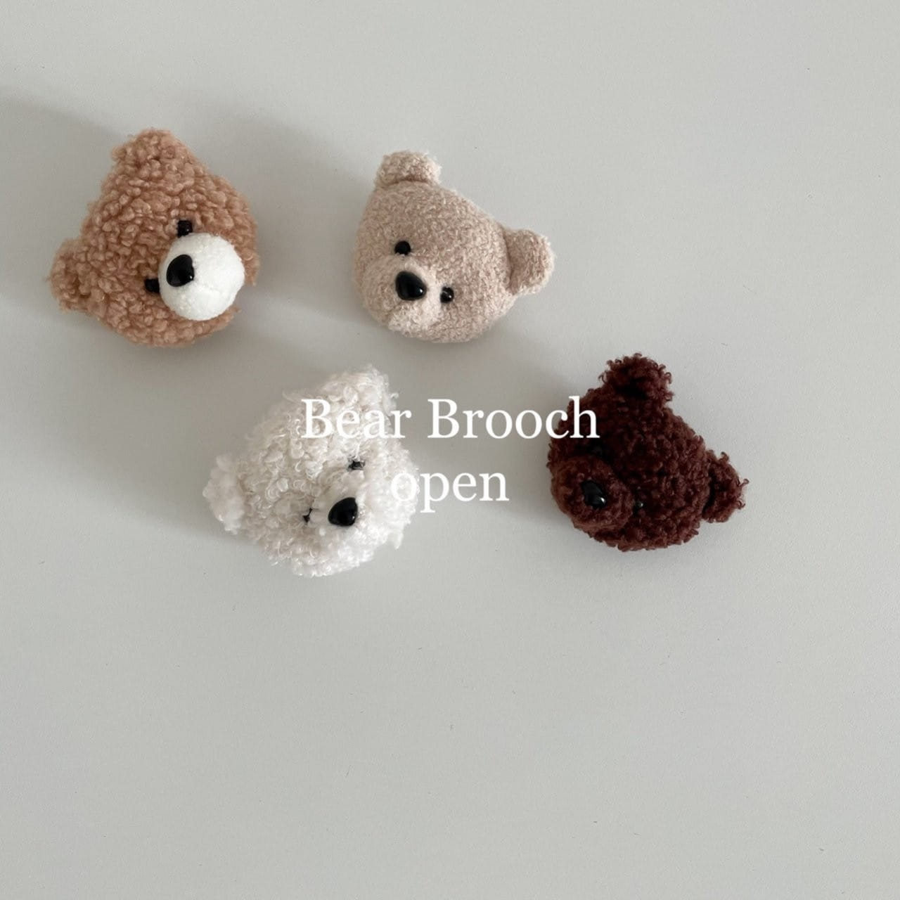 ALADIN - BRAND - Korean Children Fashion - #Kfashion4kids - Bear Brooch