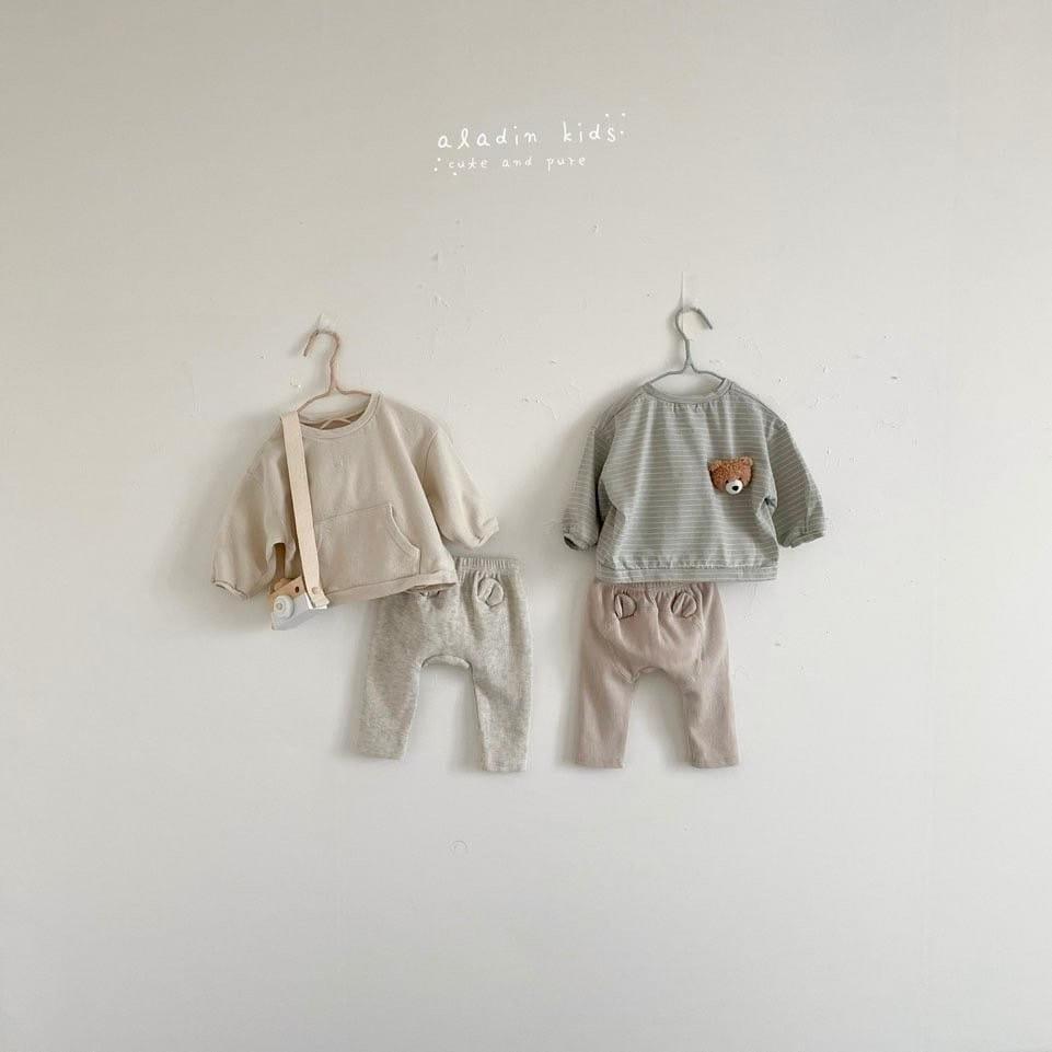 ALADIN - Korean Children Fashion - #Kfashion4kids - Kangaroo Tee - 2