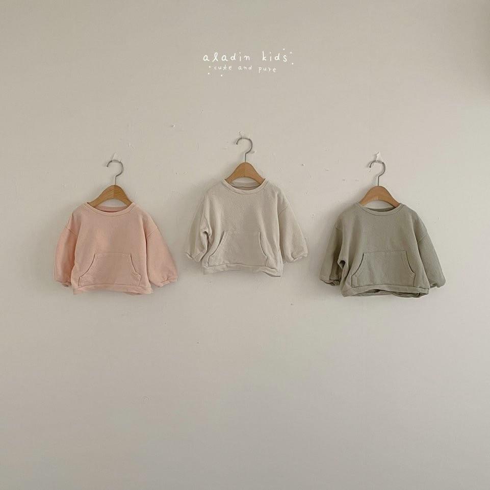 ALADIN - BRAND - Korean Children Fashion - #Kfashion4kids - Kangaroo Tee