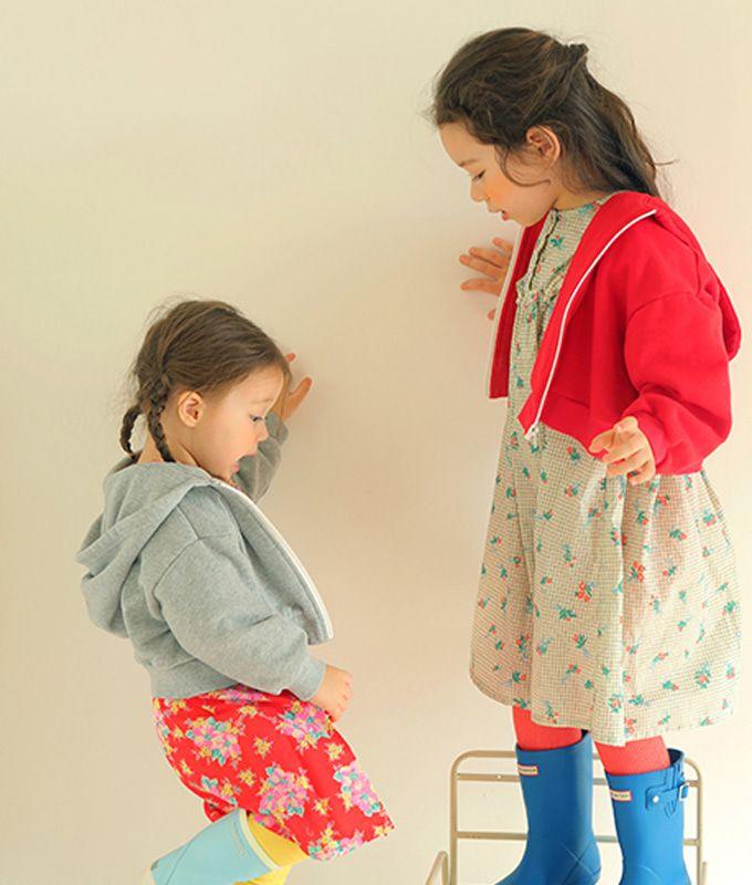 AMBER - BRAND - Korean Children Fashion - #Kfashion4kids - Ready Hoody Jacket