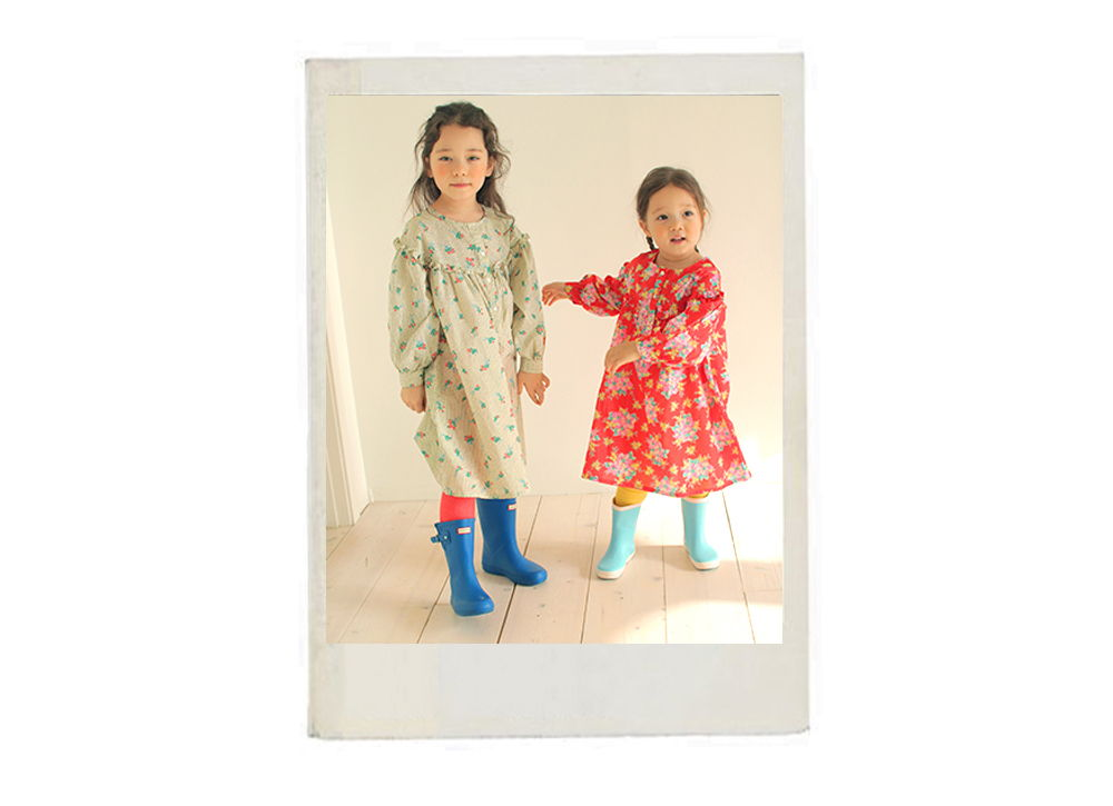 AMBER - Korean Children Fashion - #Kfashion4kids - Shelly One-piece