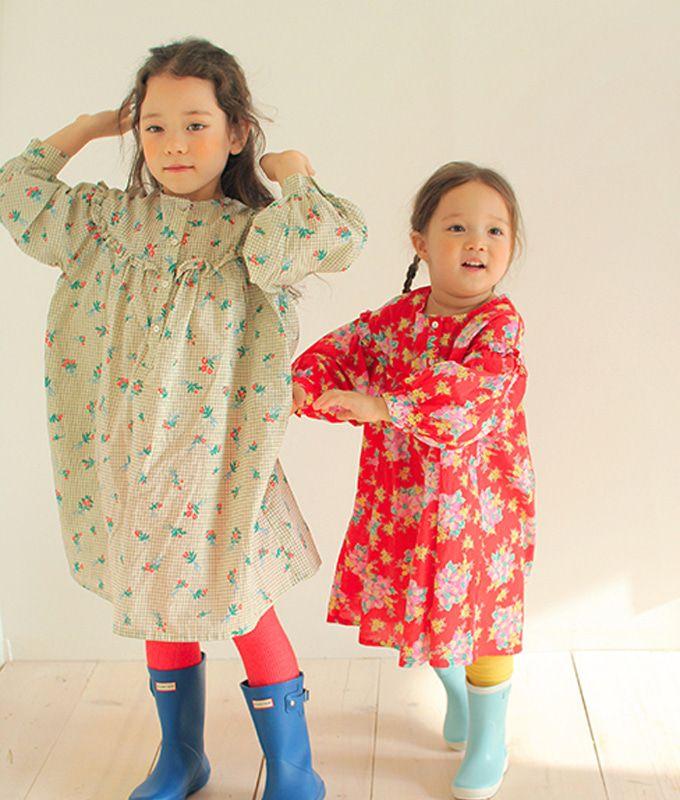 AMBER - BRAND - Korean Children Fashion - #Kfashion4kids - Shelly One-piece