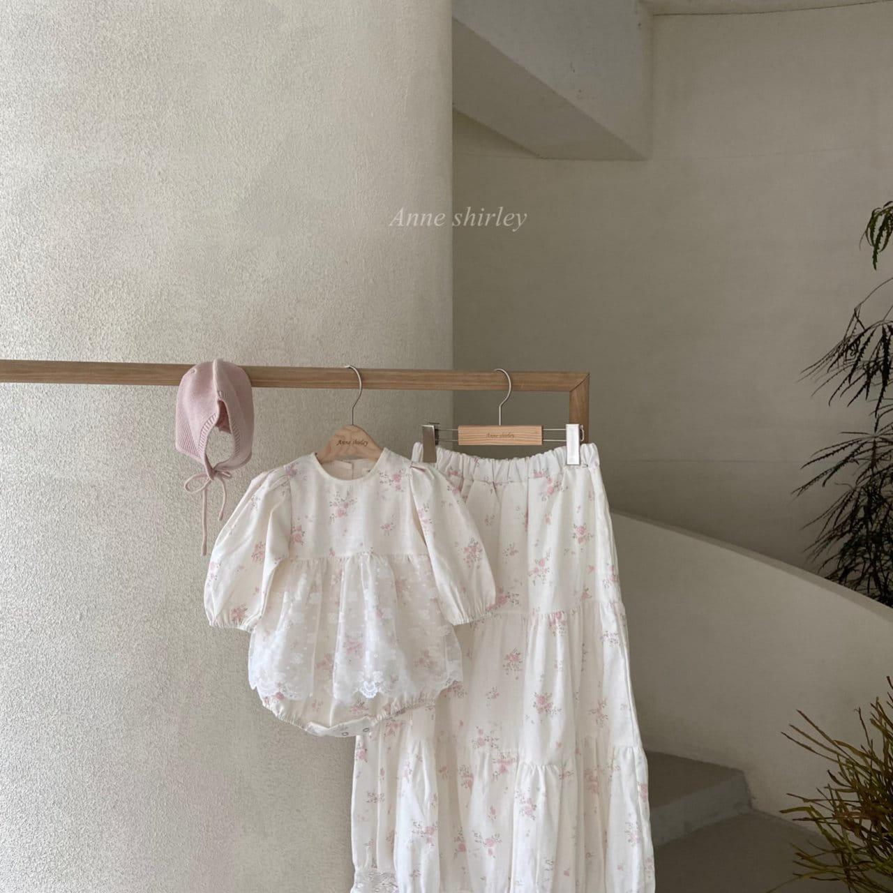 ANNE SHIRLEY - Korean Children Fashion - #Kfashion4kids - Mom Blossom Skirt