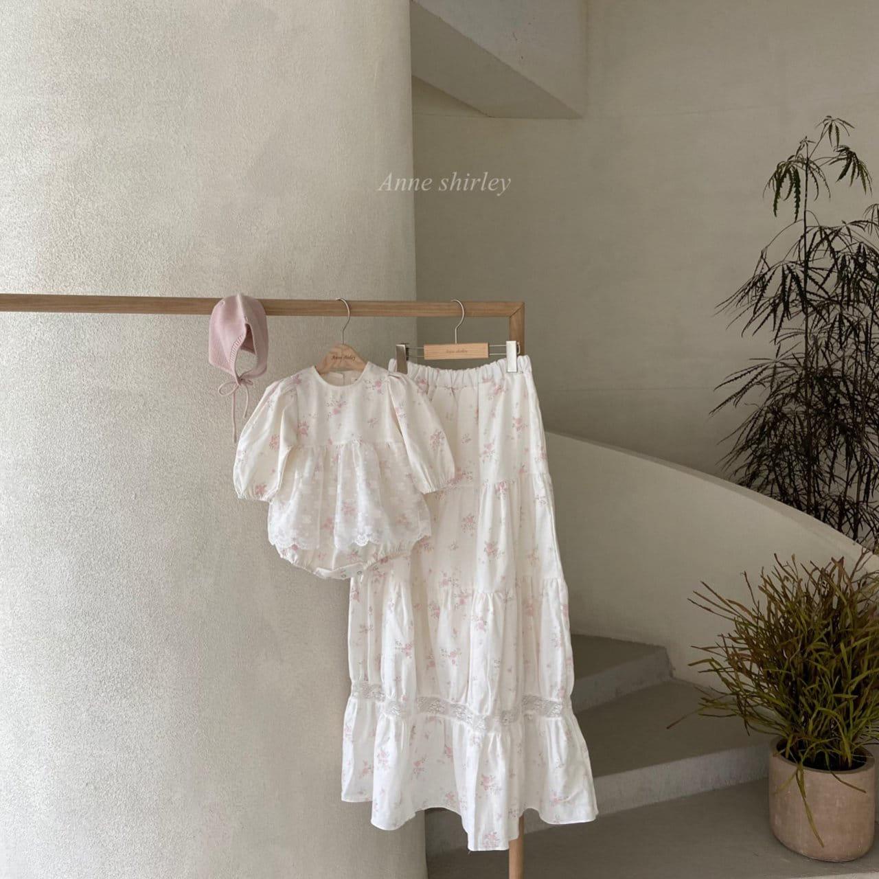 ANNE SHIRLEY - Korean Children Fashion - #Kfashion4kids - Mom Blossom Skirt  - 3