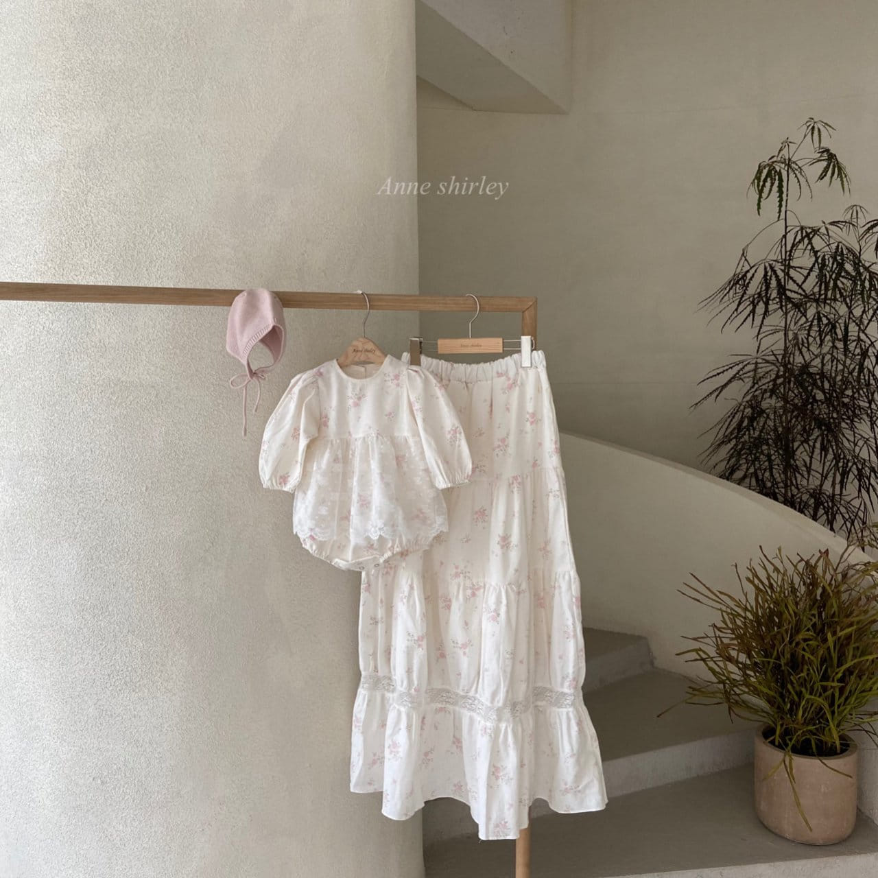 ANNE SHIRLEY - BRAND - Korean Children Fashion - #Kfashion4kids - Mom Blossom Skirt