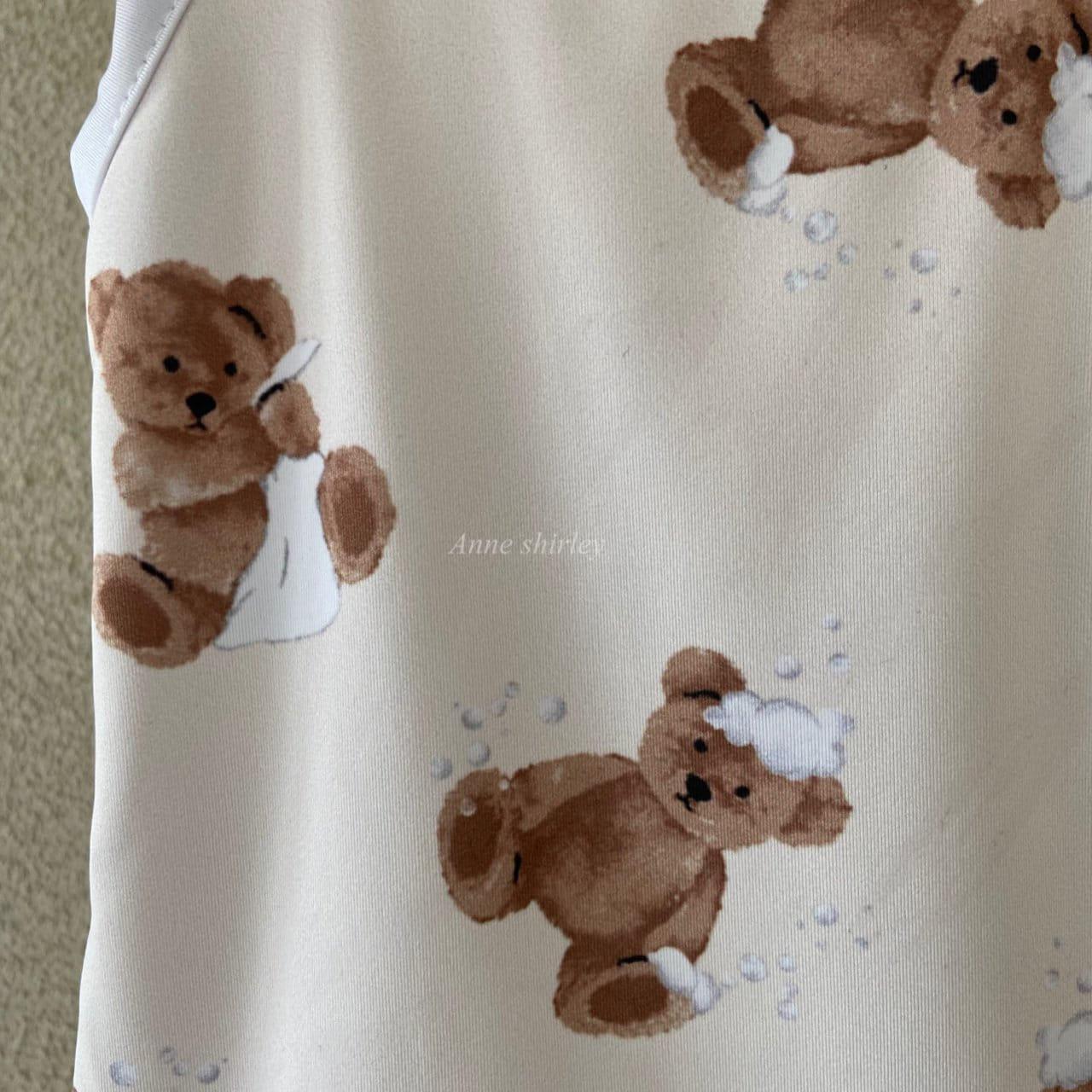 ANNE SHIRLEY - Korean Children Fashion - #Kfashion4kids - Bear Swimwear - 2