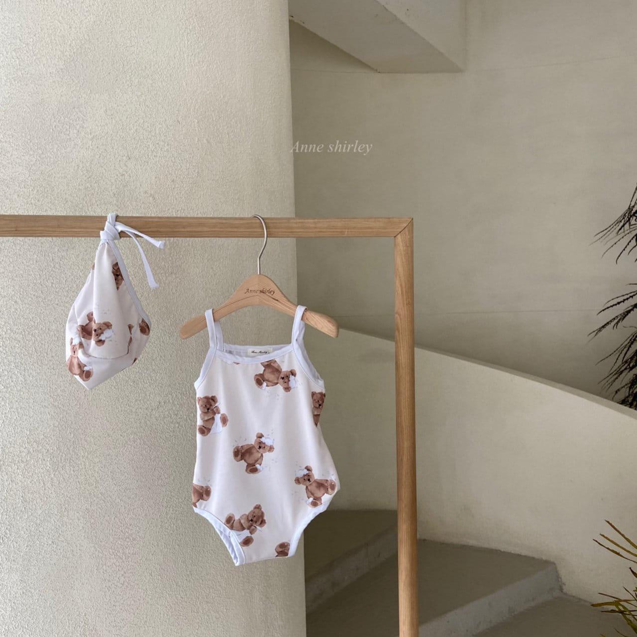 ANNE SHIRLEY - Korean Children Fashion - #Kfashion4kids - Bear Swimwear - 3