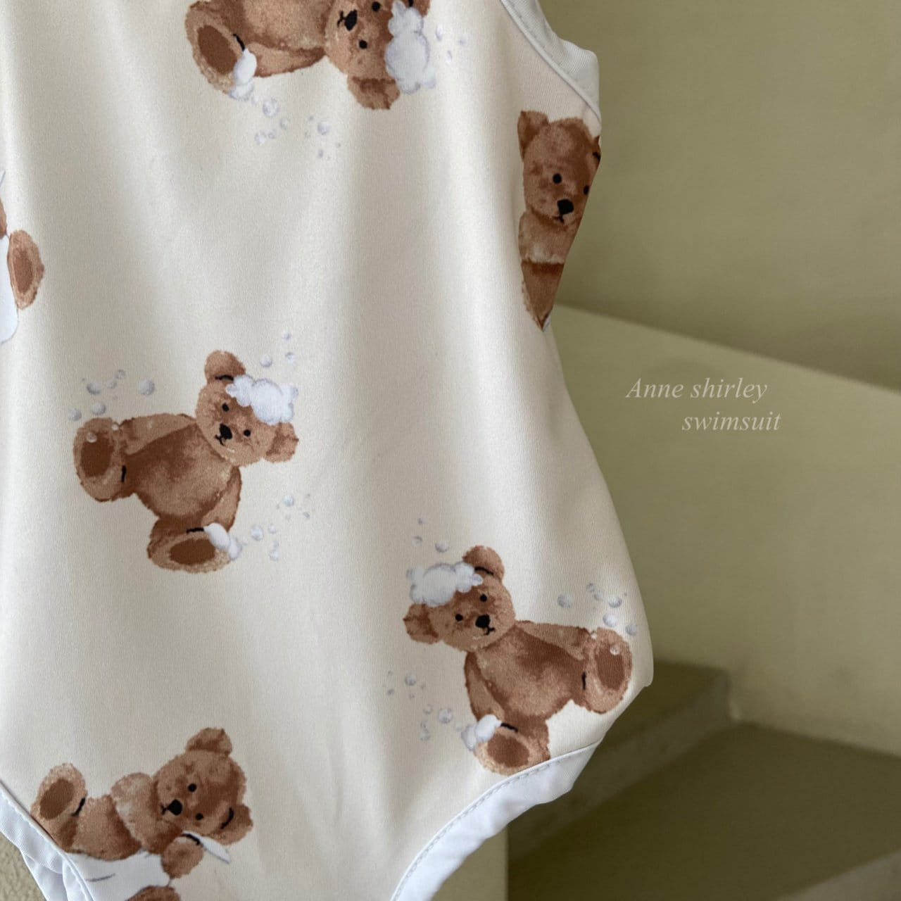 ANNE SHIRLEY - Korean Children Fashion - #Kfashion4kids - Bear Swimwear - 4