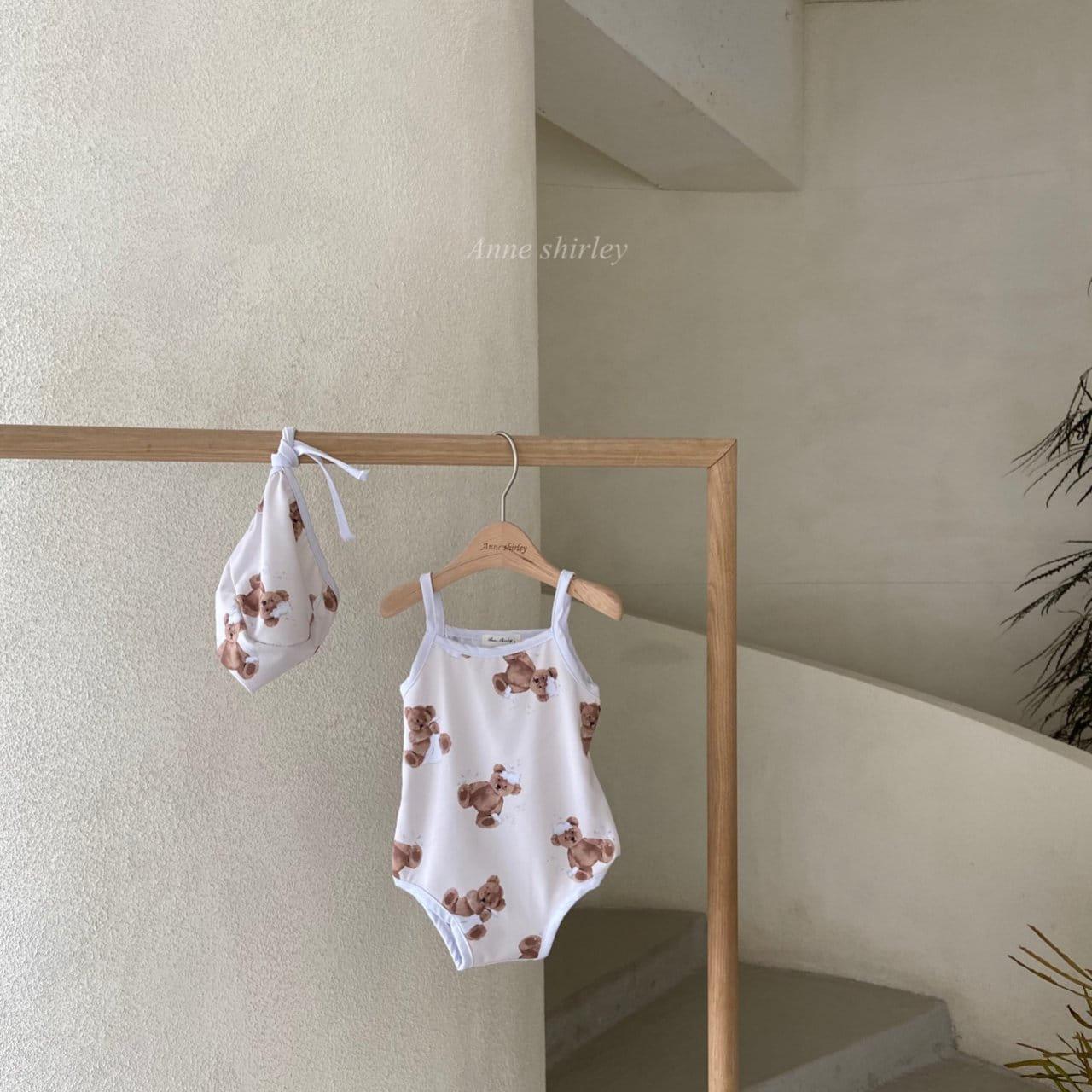 ANNE SHIRLEY - BRAND - Korean Children Fashion - #Kfashion4kids - Bear Swimwear