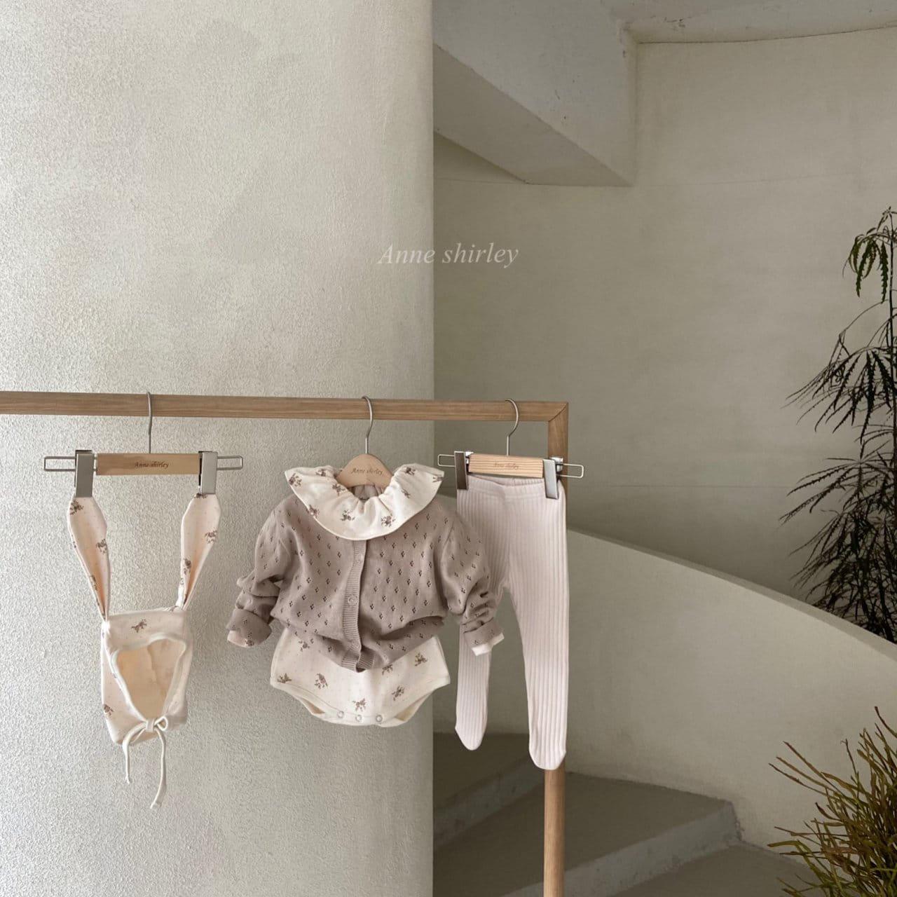 ANNE SHIRLEY - Korean Children Fashion - #Kfashion4kids - Romance Rabbit Bodysuit with Bonnet - 10