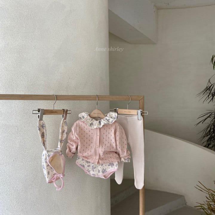 ANNE SHIRLEY - Korean Children Fashion - #Kfashion4kids - Romance Rabbit Bodysuit with Bonnet - 3