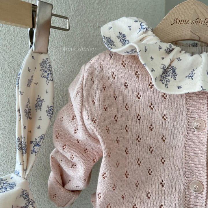 ANNE SHIRLEY - Korean Children Fashion - #Kfashion4kids - Romance Rabbit Bodysuit with Bonnet - 4