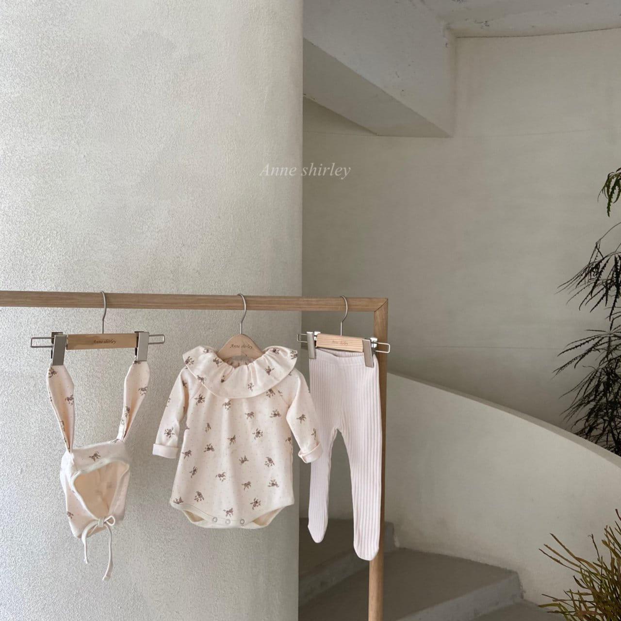 ANNE SHIRLEY - Korean Children Fashion - #Kfashion4kids - Romance Rabbit Bodysuit with Bonnet - 5