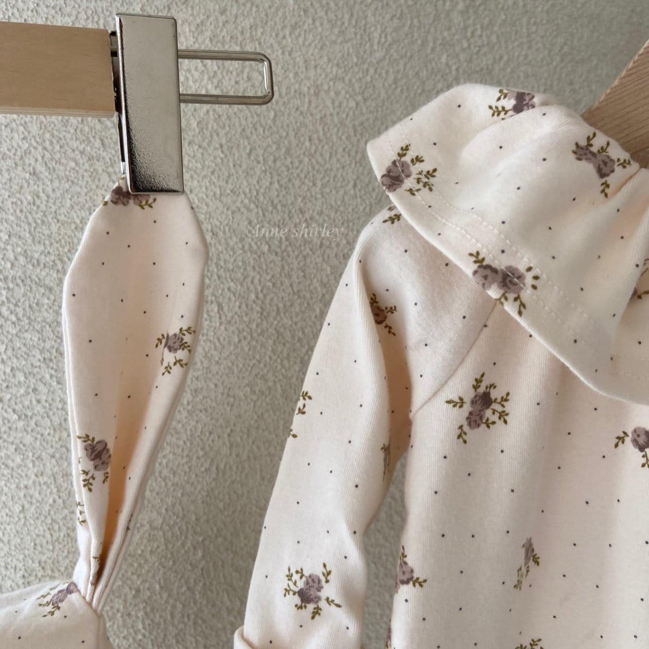 ANNE SHIRLEY - Korean Children Fashion - #Kfashion4kids - Romance Rabbit Bodysuit with Bonnet - 7