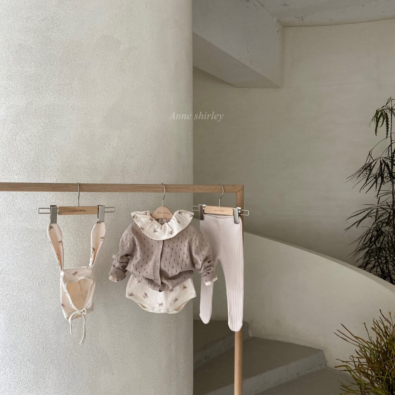 ANNE SHIRLEY - Korean Children Fashion - #Kfashion4kids - Romance Rabbit Bodysuit with Bonnet - 8