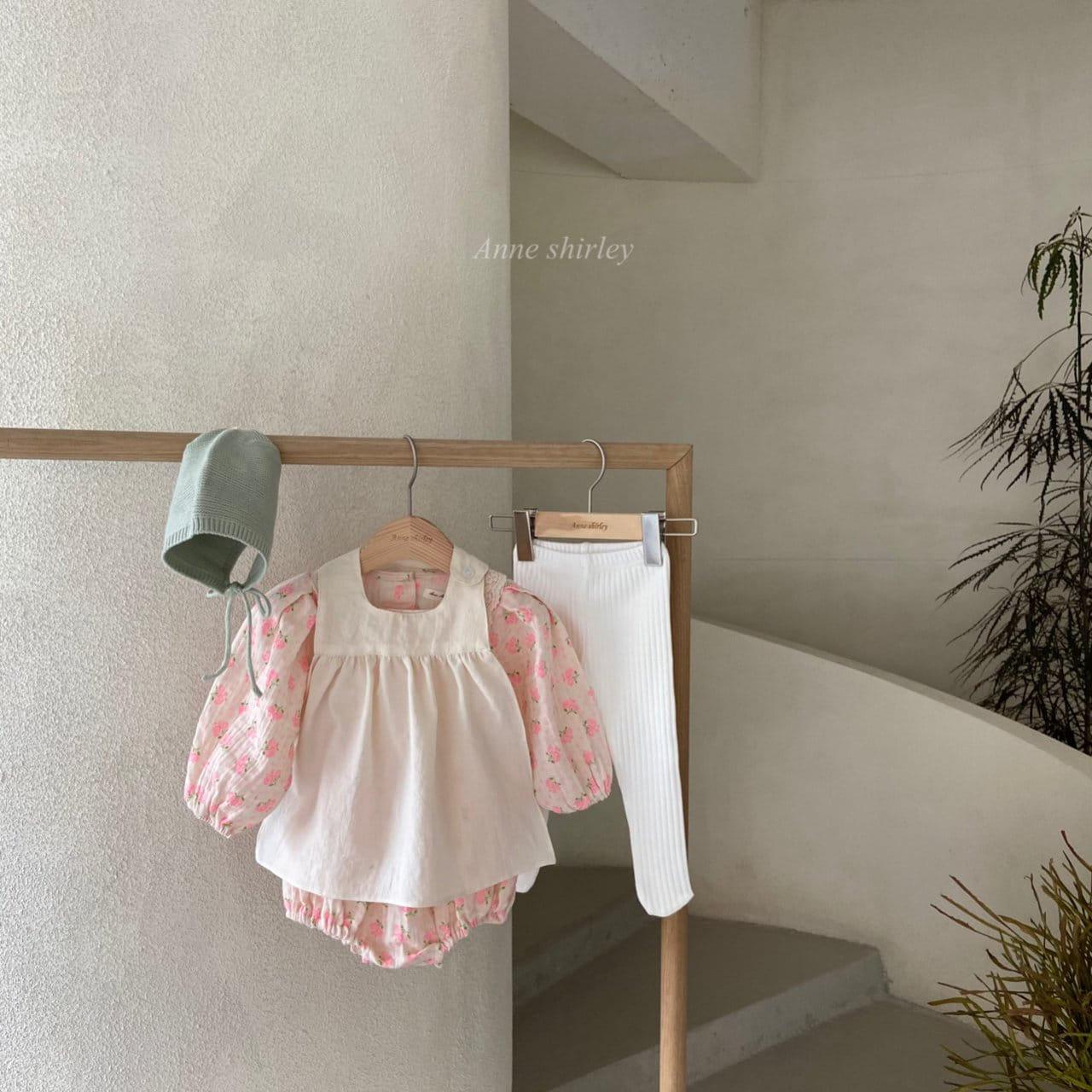 ANNE SHIRLEY - Korean Children Fashion - #Kfashion4kids - Addlia Puff Bodysuit - 6