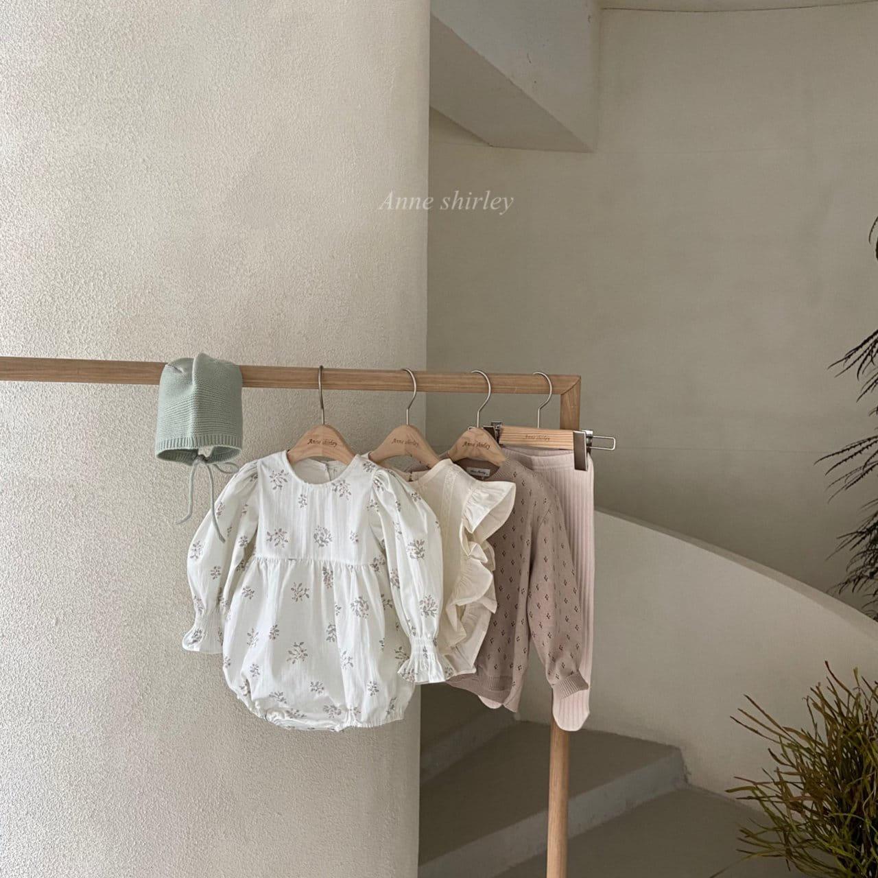 ANNE SHIRLEY - Korean Children Fashion - #Kfashion4kids - Ben Flower Bodysuit - 10