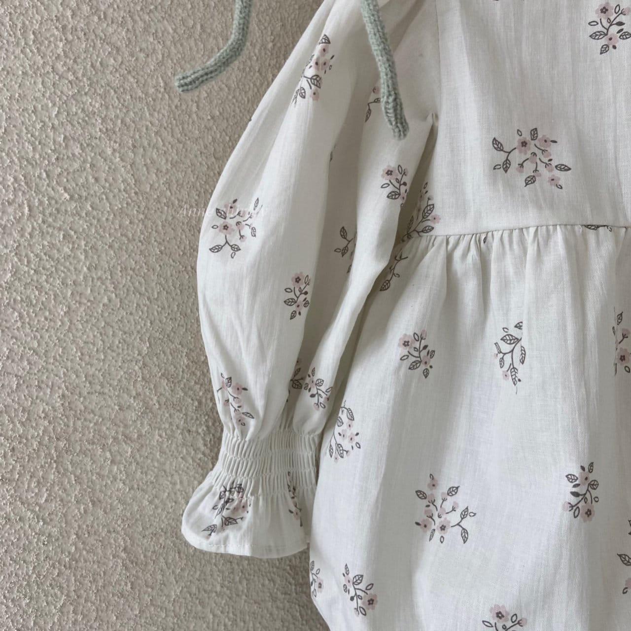 ANNE SHIRLEY - Korean Children Fashion - #Kfashion4kids - Ben Flower Bodysuit - 4