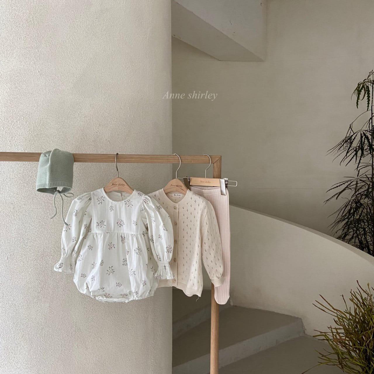 ANNE SHIRLEY - Korean Children Fashion - #Kfashion4kids - Ben Flower Bodysuit - 5