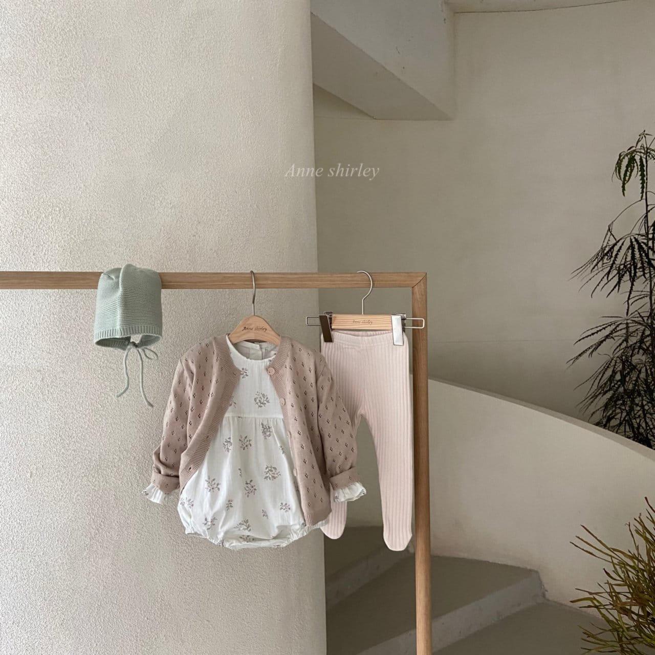 ANNE SHIRLEY - Korean Children Fashion - #Kfashion4kids - Ben Flower Bodysuit - 6