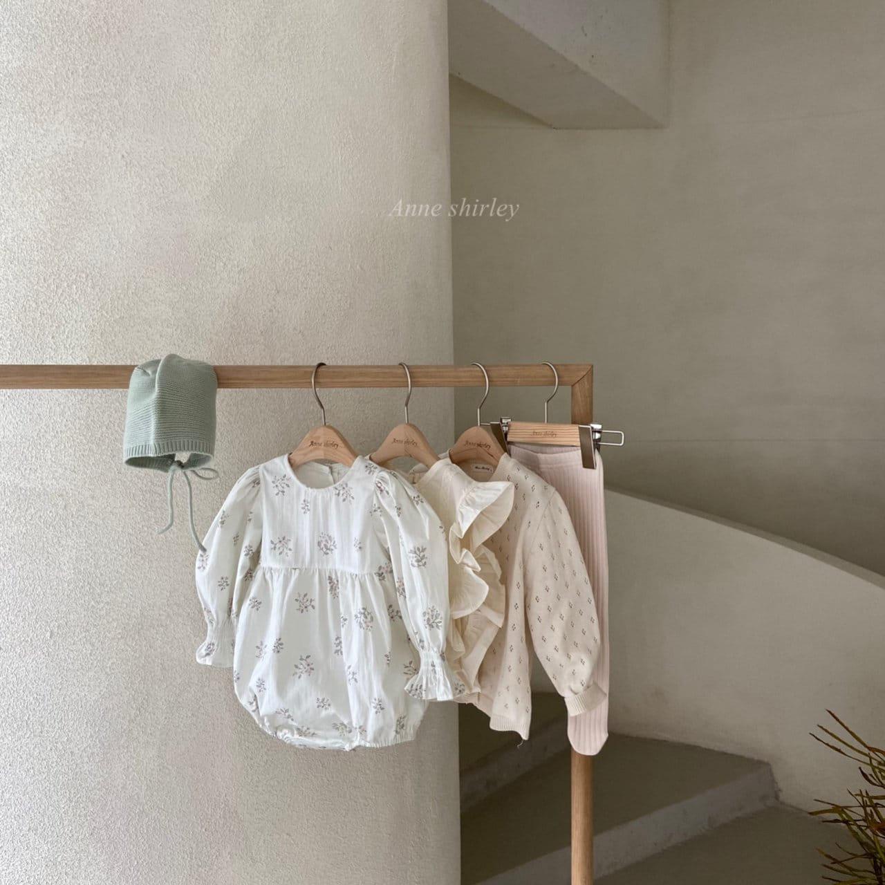 ANNE SHIRLEY - Korean Children Fashion - #Kfashion4kids - Ben Flower Bodysuit - 7